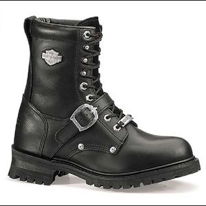 Harley-Davidson®  Faded Glory 8  Black Boots 12